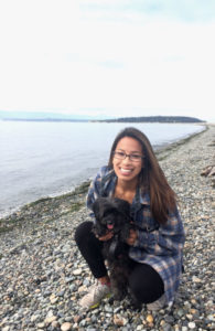 Our PT Lisa from Totem Lake Physical Therapy gets outside with her pup any chance she gets!